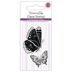 Dovecraft Clear Stamp - Butterflies (DCSTP074)