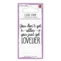 Dovecraft Clear Stamp - Lovelier (DCSTP093)