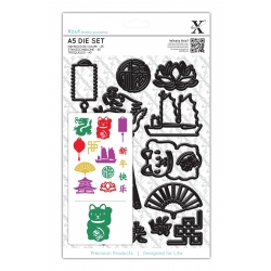 A5 Die Set (14pcs) - Chinese New Year (XCU 503252)