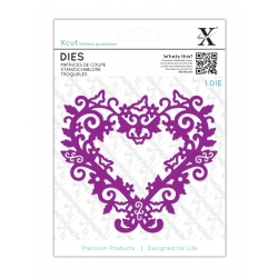 Dies (1pc) - Filigree Heart Frame (XCU 503431)
