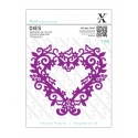 Xcut Dies - Filigree Heart Frame 1pc (XCU 503431)