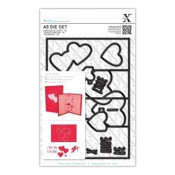 A5 Die Set (11pcs) - Pop Up Card Love (XCU 503242)