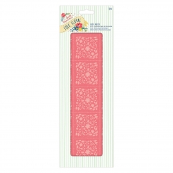 Deco Sheets (3pcs) - Folk Floral, Coral (PMA 169213)