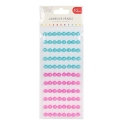 Simply Creative 10mm Pearls 88 Pack - Pink and Blue (SCDOT055)
