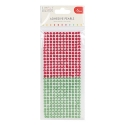Simply Creative 6mm Pearls 372 Pack - Red and Green (SCDOT051)