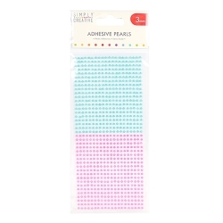 Simply Creative 3mm Pearls - 800 Pack Pink and Blue (SCDOT053)
