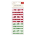 Simply Creative 10mm Pearls 88 Pack - Red and Green (SCDOT052)