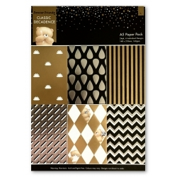 A5 Paper Pack (24pk) - Forever Friends, Classic Decadence