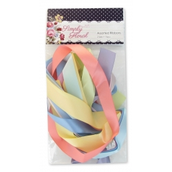Simply Floral Assorted Ribbons (10pcs)