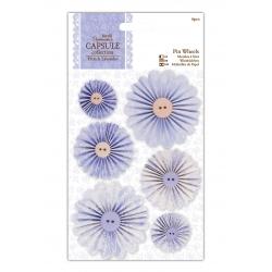Pin Wheels (6pcs) - French Lavender (PMA 359109)
