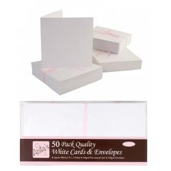 Anita's Cards/Envelopes - Square White (ANT 1512020)