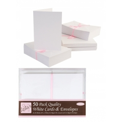 Anita's Cards/Envelopes - A6 White (ANT 1511020)