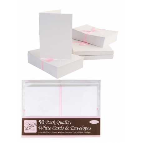 Anita's Cards/Envelopes - A6 White (ANT 1511020)