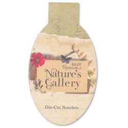 Nature's Gallery Die-cut Notelets