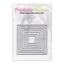 Printable Heaven dies - Nesting Squares (7pcs)
