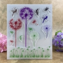 Clear Stamp set - Dandelion Clocks & Fairies (14pcs)