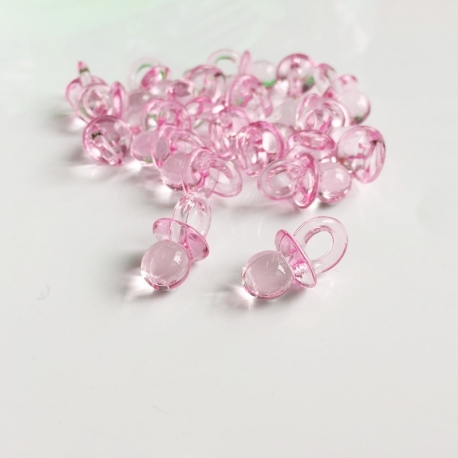 Mini Baby Dummies - Pink (20pcs)