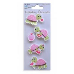 Little Birdie Elements - Valentine's Tortoises (CR34754)