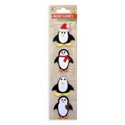 Little Birdie Embellishments - Christmas Penguin (CR34705)