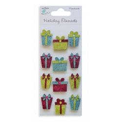 Little Birdie Embellishments - Glitter Presents Bright (CR38586)