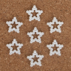 Pearl Stars - Ivory (40)