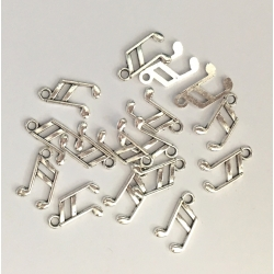Metal Charms - Music notes (18)