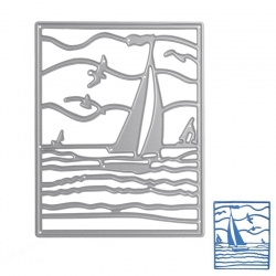 Printable Heaven die - Sailing Boat (1pc)