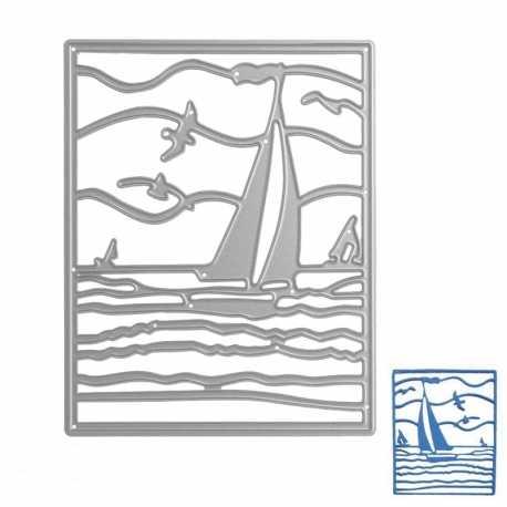 Printable Heaven die - Sailing Boat (1pc)