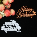 Printable Heaven die - Happy Birthday with Balloons (1pc)