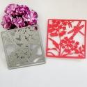 Printable Heaven die - Dragonflies & Flowers (1pc)