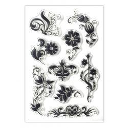 Clear Stamp set - Floral (9pcs)