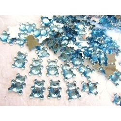 Teddy Gems - Blue (50 pack)