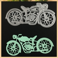 Printable Heaven die - Motorbike, Side View (1pc)