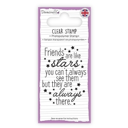Dovecraft Clear Stamp - Stars (DCSTP099)