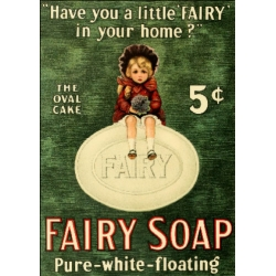 Download - Postcard - Fairy Soap
