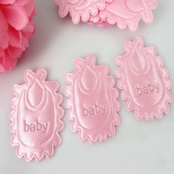 Padded Bibs - Pink (14)