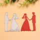 Printable Heaven die - Bride & Groom 2 (1pc)