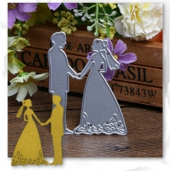 Printable Heaven die - Bride & Groom 2 (1pc)