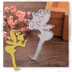 Printable Heaven die - Fairy blowing Fairy-dust (1pc)