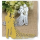 Printable Heaven die - Bride & Groom 1 (1pc)