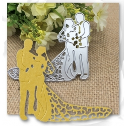 Printable Heaven Universal Die - Bride & Groom
