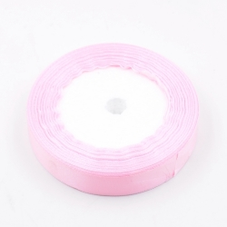6mm Satin Ribbon - Pale Pink (25 yards)