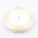 6mm Satin Ribbon - Cream (25 yards)