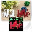 Printable Heaven die - Love (1pc)