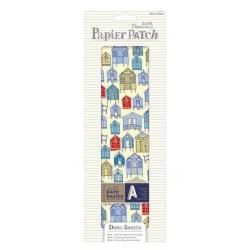 PMA 169333 Deco Sheets (3pcs) - Papier Patch - Beach Huts