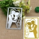 Printable Heaven die - Wedding couple (1pc)