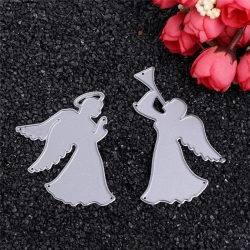 Printable Heaven dies - Pair of Angels (2pcs)