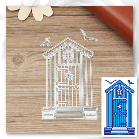 Printable Heaven dies - Beach Hut (3pcs)