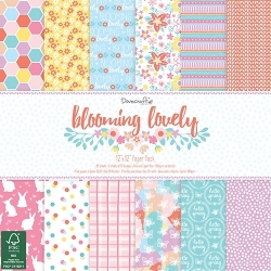 Dovecraft Blooming Lovely 12x12 Paper Pack (DCPAP052)