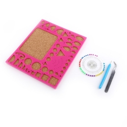 Quilling Board, Pink